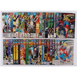 "Lot of (43) 1985-1994 ""Action Comics"" #563-#699 DC Comic Books"
