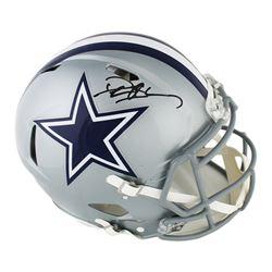 Deion Sanders Signed Dallas Cowboys Full-Size Authentic On-Field Speed Helmet (Radtke COA)