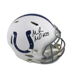Marlon Mack Signed Indianapolis Colts Full-Size Authentic On-Field Speed Helmet (Radtke COA)