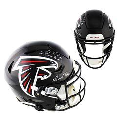 "Matt Ryan Signed Atlanta Falcons Full-Size Authentic On-Field SpeedFlex Helmet Inscribed ""Matty Ice"""