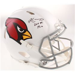 "Kyler Murray Signed Arizona Cardinals Full-Size Authentic On-Field Speed Helmet Inscribed ""2019 #1 P"