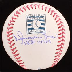 "Mariano Rivera Signed Hall of Fame OML Baseball Inscribed ""HOF 2019"" (PSA Hologram)"