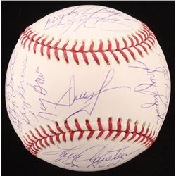1980 Philadelphia Phillies World Series Baseball Team-Signed by (20) with Mike Schidt, Steve Calton,