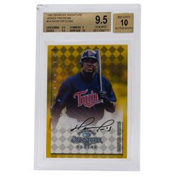 1998 Donruss Signature Series Previews #24 David Ortiz / 393 (BGS 9.5)