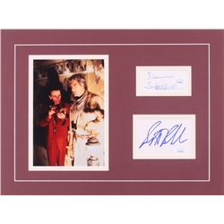 "Scott Bakula  Dean Stockwell Signed ""Quantum Leap"" 11.5x16 Custom Matted Cut Display (JSA COA)"