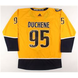 "Matt Duchene Signed Nashville Predators Jersey Inscribed ""Smashville"" (Beckett Hologram)"