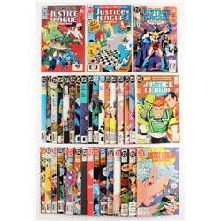 "Lot of (36) 1987-1993 ""Justice League"" DC Comic Books"