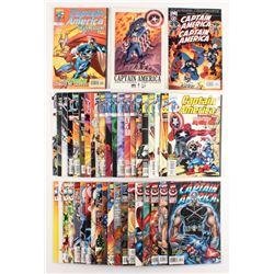 "Lot of (43) 1996-2002 ""Captain America"" Marvel Comic Books"