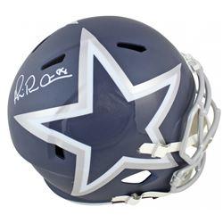 Michael Irvin Signed Dallas Cowboys AMP Alternate Speed Full Size Helmet (Beckett COA)