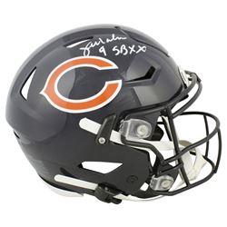 "Jim McMahon Signed Chicago Bears Full-Size Authentic On-Field SpeedFlex Helmet Inscribed ""SB XX"" (Be"