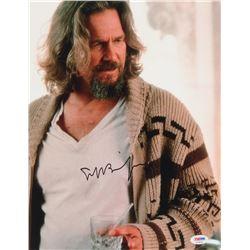 """Jeff Bridges Signed """"The Big Lebowski"""" 11x14 Photo (PSA Hologram)"""