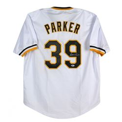 Dave Parker Signed Jersey (Beckett COA)