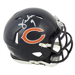 Jim McMahon Signed Chicago Bears Speed Mini Helmet (Beckett COA)