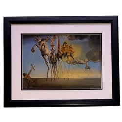 "Salvador Dali ""The Temptation of St. Anthony"" 18x20 Custom Framed Print Display"