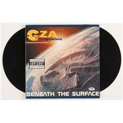 "GZA Signed ""Beneath the Surface"" Vinyl Record Album (PSA Hologram)"