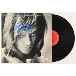"Eddie Money Signed ""Playing for Keeps"" Vinyl Record Album (PSA Hologram)"