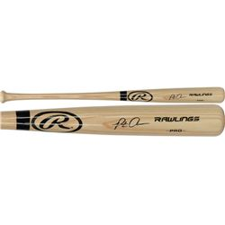 Pete Alonso Signed Rawlings Pro Baseball Bat (Fanatics Hologram)