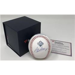 Stephen Strasburg Signed 2019 World Series Logo Baseball (Fanatics Hologram)