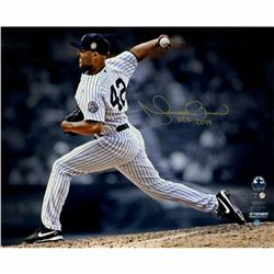 "Mariano Rivera Signed New York Yankees ""Pitching"" 16x20 Photo Inscribed ""HOF 2019"" (Steiner COA)"