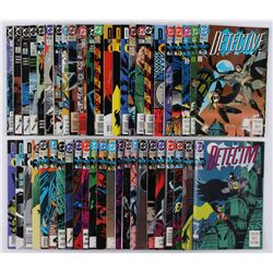 "Lot of (48) ""Batman"" 1st Series Detective Comics Comic Books"