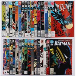 "Lot of (31) ""Batman"" 1st Series Detective Comics Comic Books"