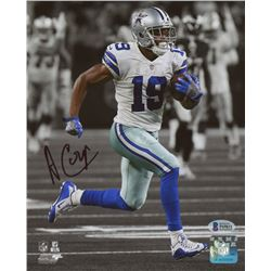 Amari Cooper Signed Dallas Cowboys 8x10 Photo (Beckett COA)
