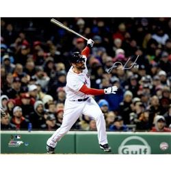 J.D. Martinez Signed Boston Red Sox 16x20 Photo (Steiner COA)