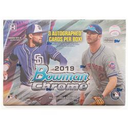 2019 Bowman Chrome Baseball HTA Choice Hobby Box - Factory Sealed
