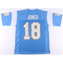 "Charlie Joiner Signed Jersey Inscribed ""HOF 96"" (JSA COA)"