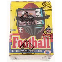 1985 Topps Football Wax Box (BBCE Certified)