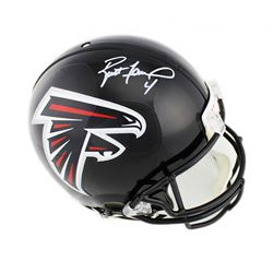 Brett Favre Signed Atlanta Falcons Full-Size Authentic On-Field Helmet (Radtke COA)