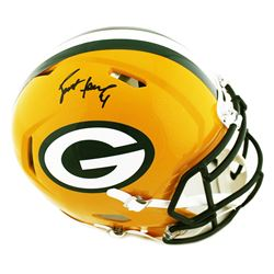 Brett Favre Signed Green Bay Packers Full-Size Authentic On-Field Speed Helmet (Radtke COA)