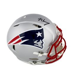 N'Keal Harry Signed New England Patriots Full-Size Authentic On-Field Speed Helmet (Radtke COA)