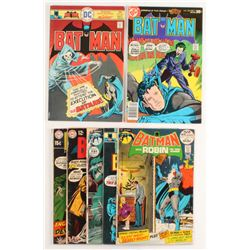 "Lot of (7) 1969-1977 ""Batman"" DC Comic Books"