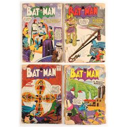 "Lot of (4) 1959-1960 ""Batman"" DC Comic Books"