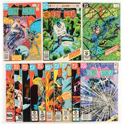 "Lot of (13) 1963-1986 ""Batman"" DC Comic Books"