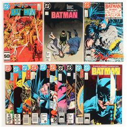 "Lot of (13) 1980-1989 ""Batman"" DC Comic Books"