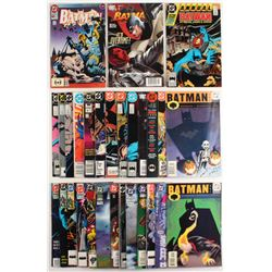 "Lot of (29) 1985-2006 ""Batman"" DC Comic Books"