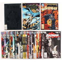 "Lot of (33) 1993-2006 ""Batman"" DC Comic Books"