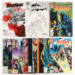 "Lot of (13) 1989-1993 ""Batman"" DC Comic Books"