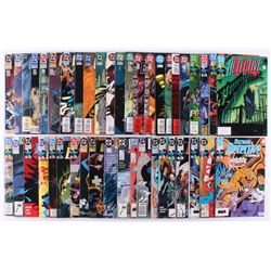 "Lot of (44) 1989-1996 ""Detective Comics"" DC Comic Books"