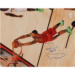 Damian Lillard Signed Portland Trail Blazers 11x14 Photo (JSA COA)