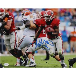 Todd Gurley Signed Georgia Bulldogs 11x14 Photo (JSA COA)