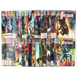 "Lot of (39) ""Batman"" Detective Comics Comic Books"