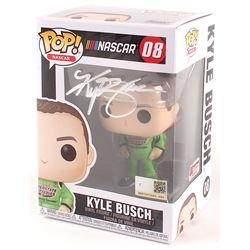 "Kyle Busch Signed NASCAR ""Interstate Batteries"" #08 Funko POP! Vinyl Figure (PA COA)"