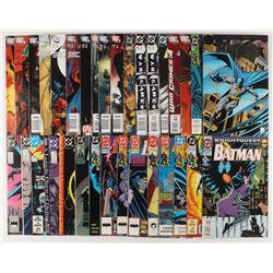 "Lot of (34) ""Batman"" Detective Comics Comic Books"