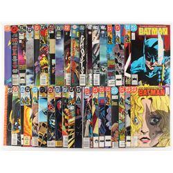"Lot of (37) ""Batman"" Detective Comics Comic Books"