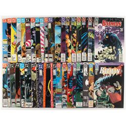 "Lot of (36) ""Batman"" Detective Comics Comic Books"