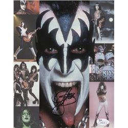"Gene Simmons Signed ""Kiss"" 8x10 Photo (JSA COA)"