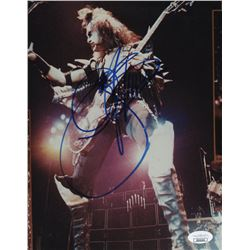 Gene Simmons Signed Kiss 8x10 Photo (JSA COA)